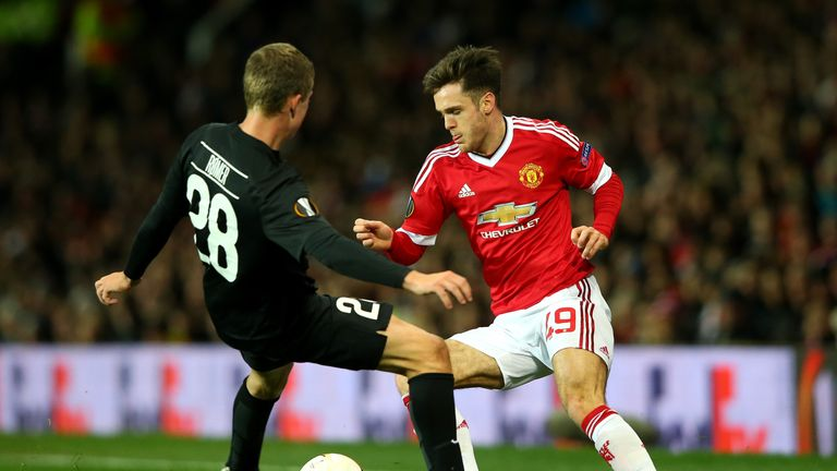 Joe Riley came through the United academy with McTominay
