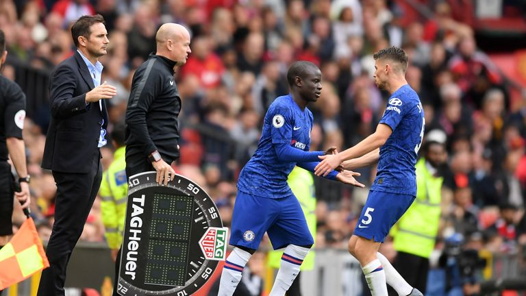 N'Golo Kante will be assessed before a decision is made on whether he will start Wednesday's Super Cup