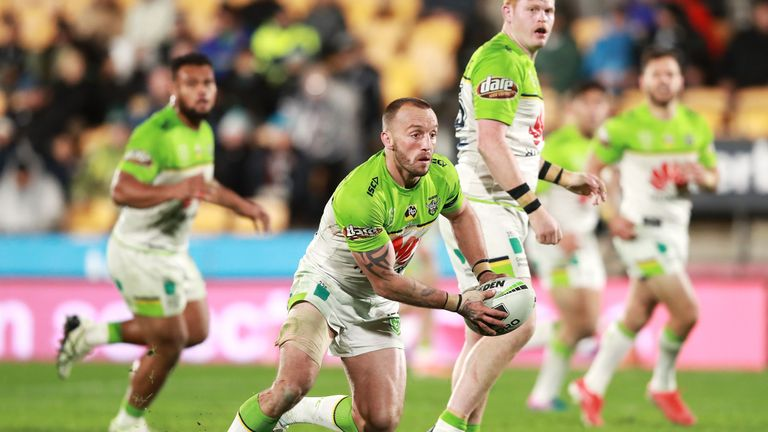 Josh Hodgson and the rest of Canberra's English contingent face the Burgess brothers this week