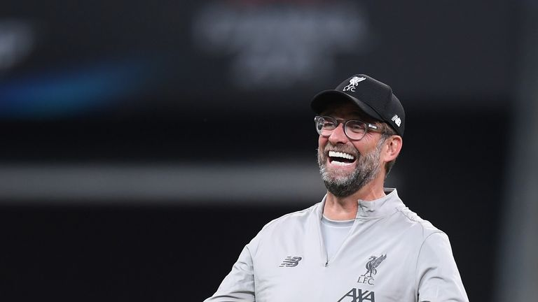 Jurgen Klopp will aim to lead Liverpool to their fourth Super Cup title