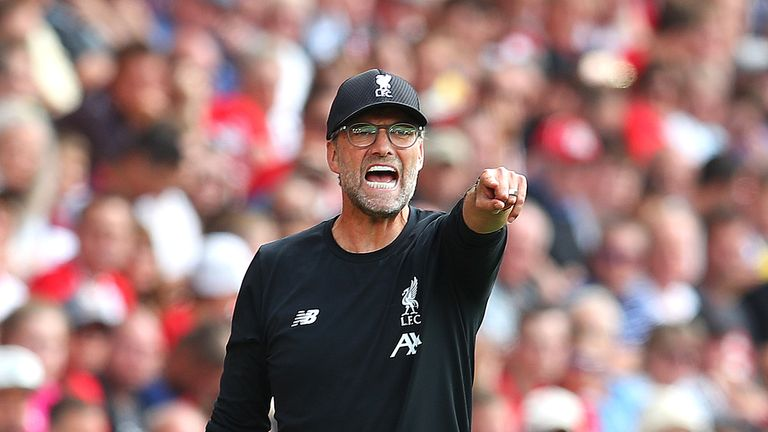 Jurgen Klopp has led Liverpool to four wins from four