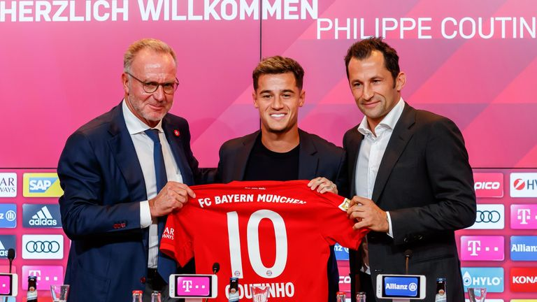 CEO Karl-Heinz Rummenigge helped sign Philippe Coutinho from Barcelona