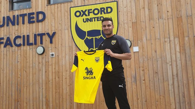 Kash Siddiqi has joined Oxford United