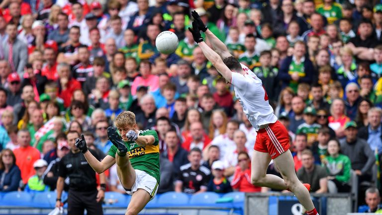 Kerry were wasteful with their shooting in the first half