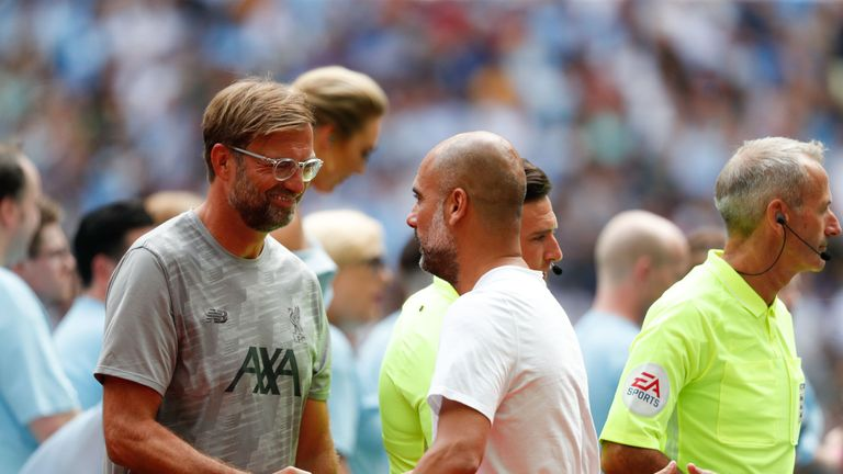 Klopp insists he and Guardiola have a great relationship