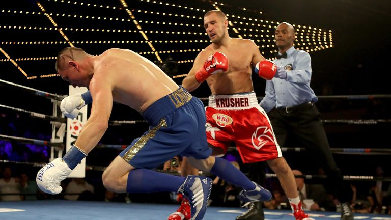 Kovalev has been stopped twice but retains his fearsome power
