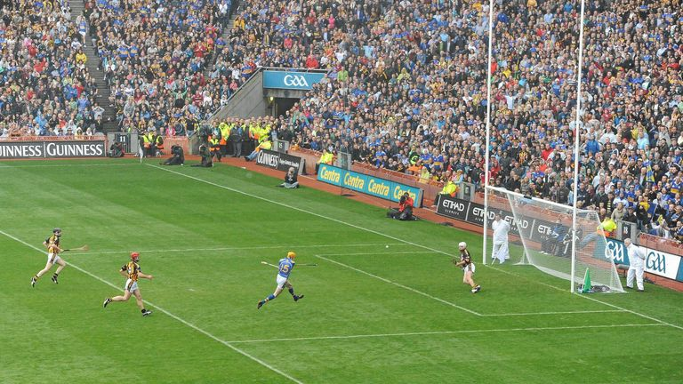Thurles man Lar Corbett could do no wrong on the day