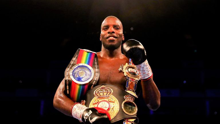 Lawrence Okolie will target the European cruiserweight title