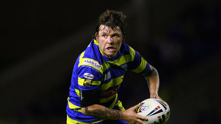 Former Warrington and St Helens half-back Lee Briers was influential in the Wolves' victory when the sides met in 2011