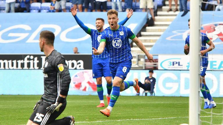Wigan shocked Cardiff on the opening day of the season