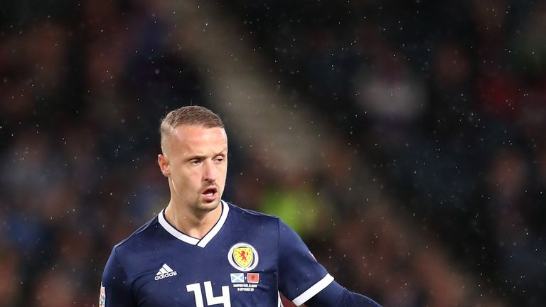 Leigh Griffiths last played for Scotland against Albania in September 2018