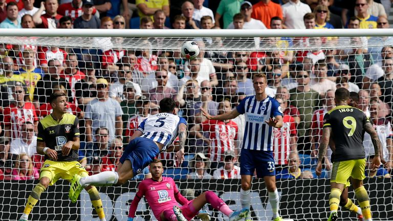 Image result for lewis dunk disallowed goal