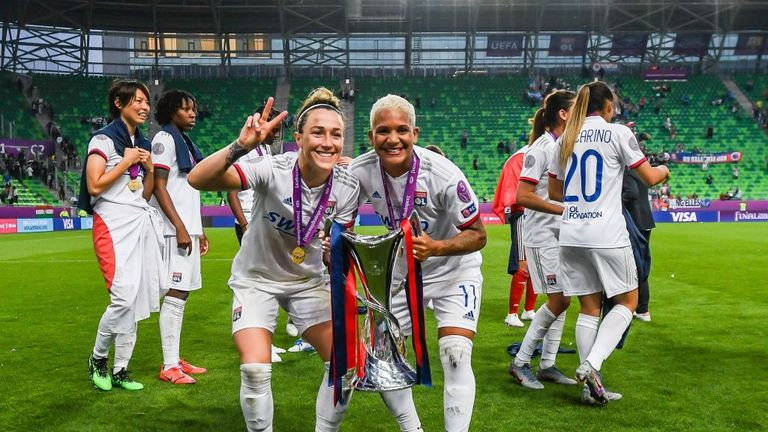 Bronze was named UEFA's Women's Player of the Year last month