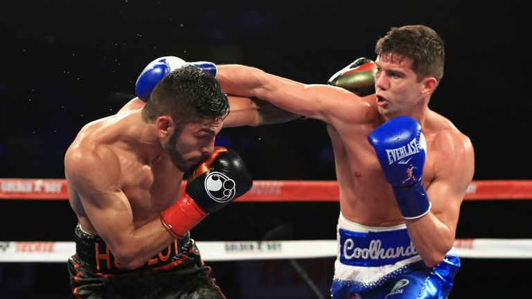Campbell challenged Linares in the US
