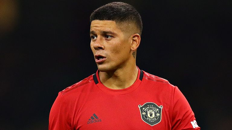 Marcos Rojo has been a Manchester United player since 2014