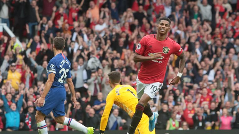 Marcus Rashford is already a fifth of the way to his league tally from 2018/19