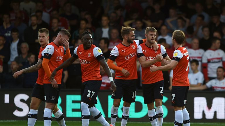 Luton drew 3-3 with Middlesbrough on the opening day of the season