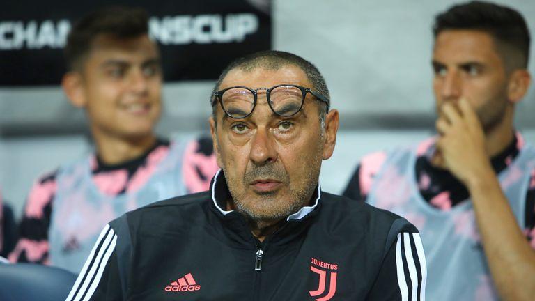 Juventus head coach Maurizio Sarri has been feeling unwell since last week