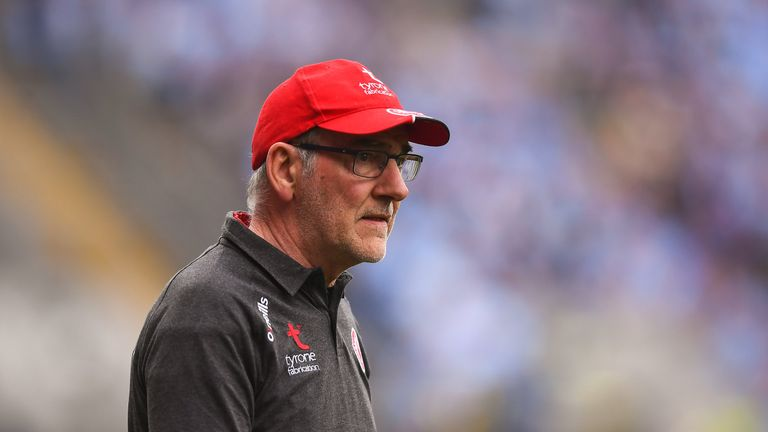 Mickey Harte is bidding to reach his fifth All-Ireland final