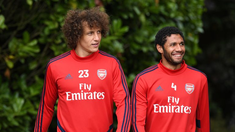 Mohamed Elneny joined Arsenal from FC Basel in January 2016