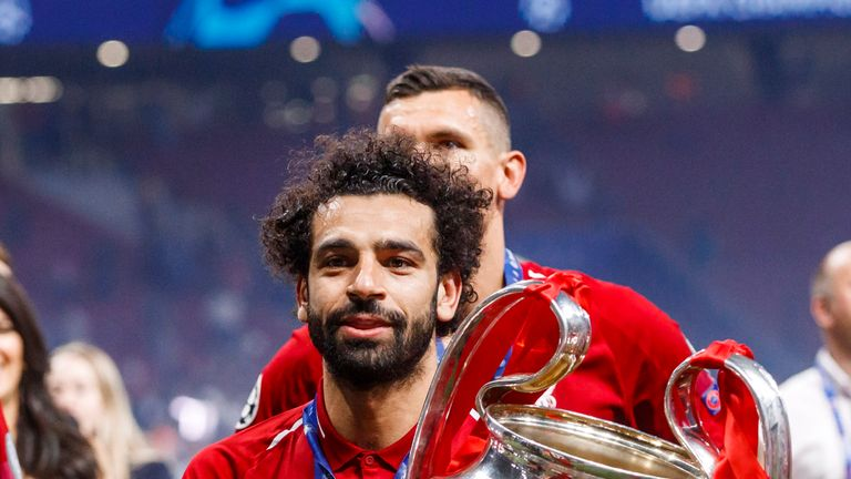 Mohamed Salah has been nominated for the Ballon d'Or
