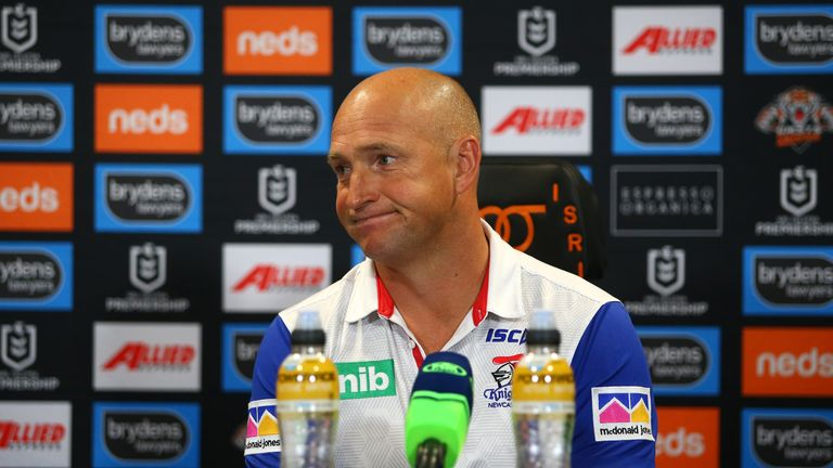 Nathan Brown leaves the Knights job with immediate effect