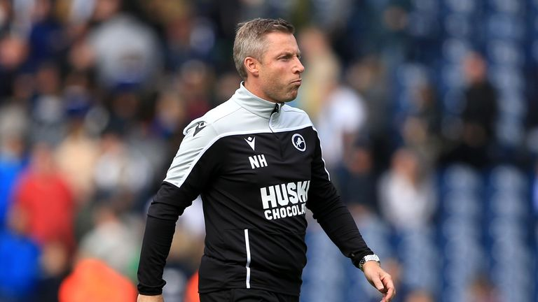 Neil Harris defended his actions as Millwall drew at Middlesbrough