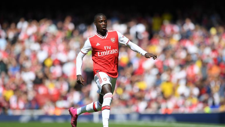 Arsenal signed fellow Ivory Coast international Nicolas Pepe in the summer instead of Zaha