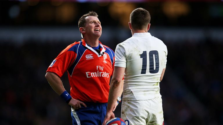 Rugby union fans can hear what officials are saying during matches