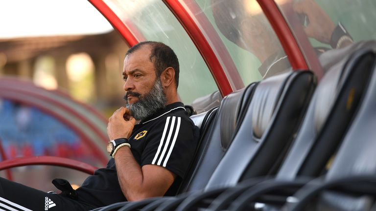 Nuno Espirito Santo is relaxed about Wolves' being able to deal with a busy fixture schedule
