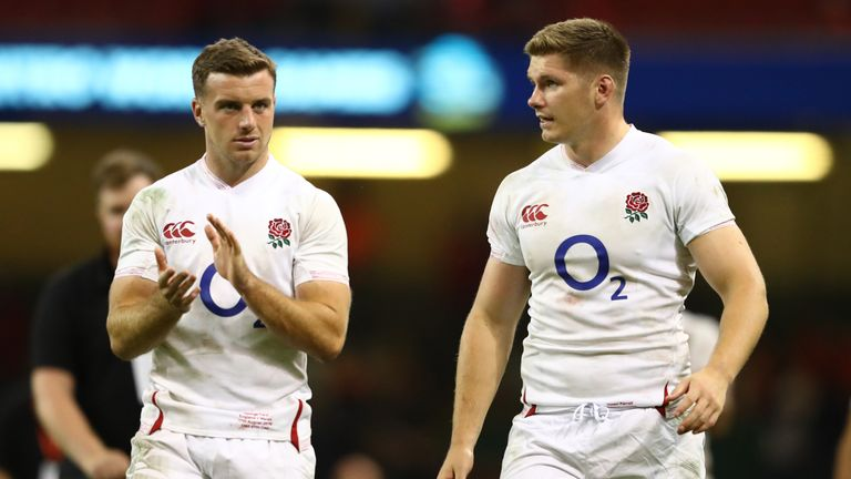 The  dual-playmaker combination of George Ford and Owen Farrell returns