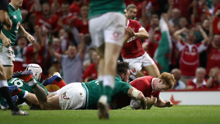 Rhys Patchell emerged from the bench to turn the game in Wales' favour, scoring late on