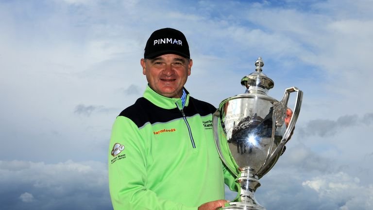 Paul Lawrie claims maiden Staysure Tour win at Scottish Senior Open