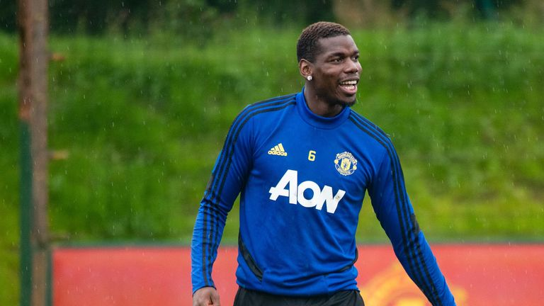 Paul Pogba performed well in Manchester United's opening win over Chelsea