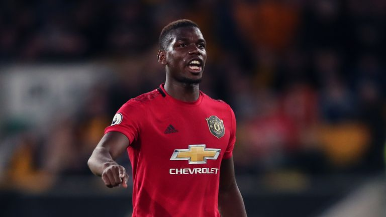 Paul Pogba was the subject of racial abuse on social media after missing a penalty against Wolves on Monday night
