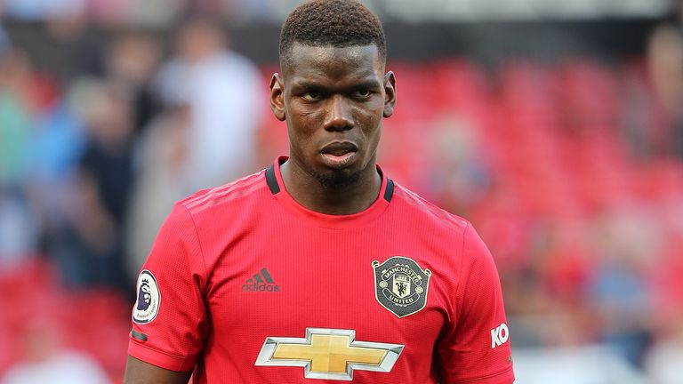 Paul Pogba has been targeted by racists on social media