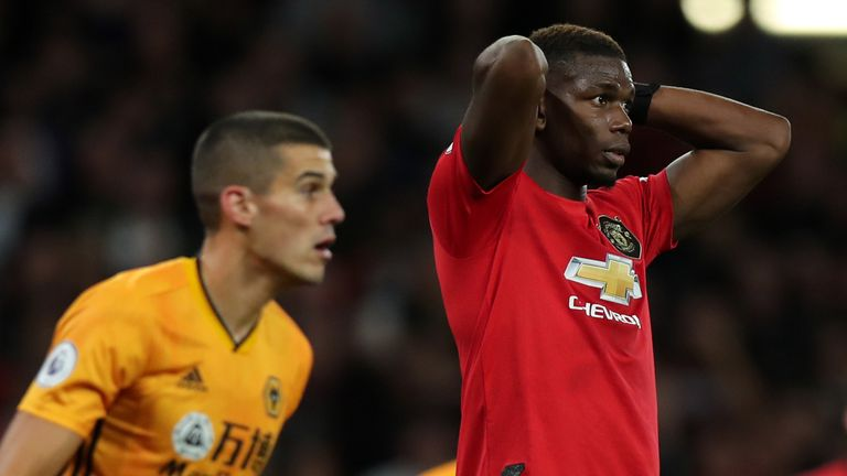 Highlights from Manchester United's 1-1 draw with Wolves at Molineux
