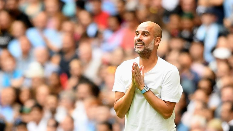 Pep Guardiola's side lifted the Community Shield last weekend after a win on penalties over Liverpool