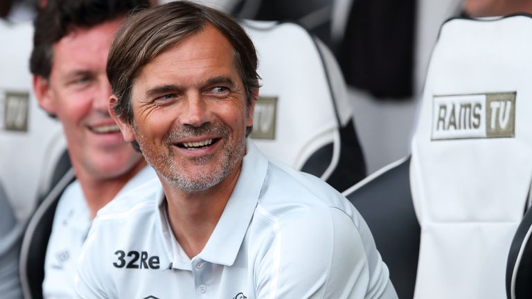 Cocu was previously manager at PSV