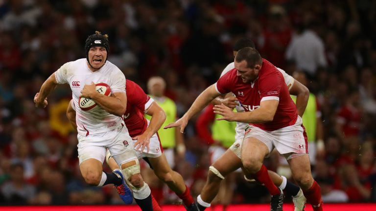 Wales 13-6 England: George North try helps Warren Gatland's men move top of world rankings