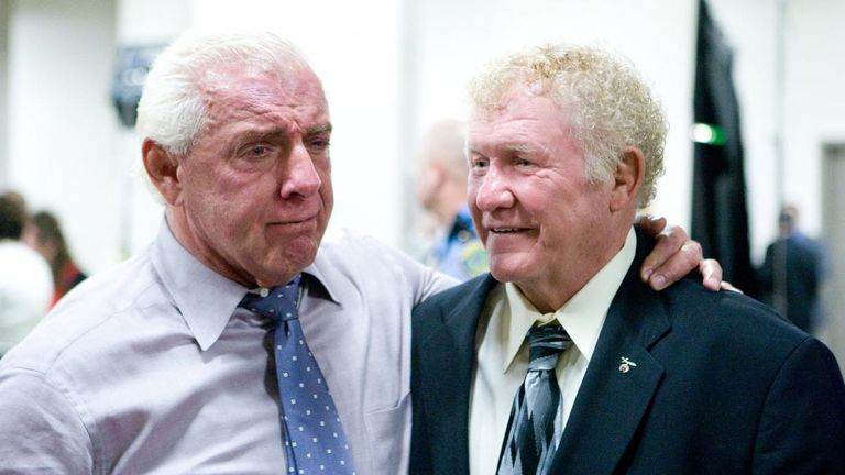 Ric Flair leads Harley Race tributes as wrestling world pays respects to legend