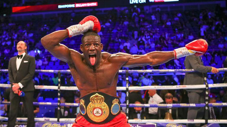Richard Riakporhe recently defeated Okolie's gym-mate Chris Billam-Smith