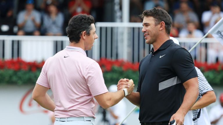 Rory McIlroy and Brooks Koepka are among the two longest hitters in golf