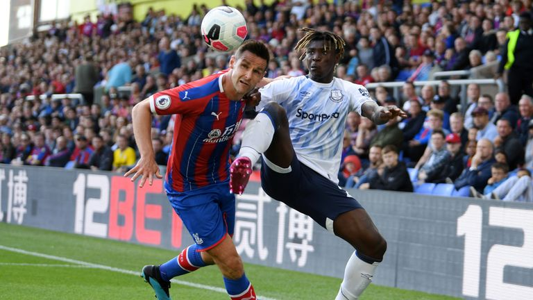 Dann was a calming influence in the Palace defence all afternoon