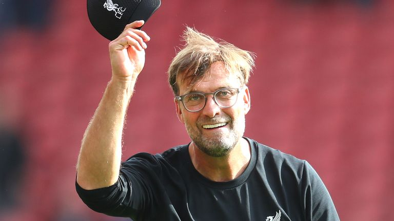 Jurgen Klopp laughed off Adrian's mistake in Liverpool's 2-1 win at Southampton