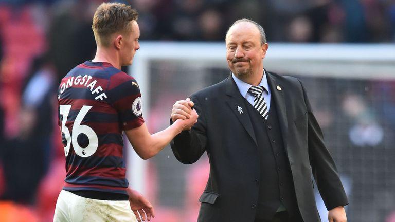 Longstaff was handed his Premier League debut by Rafa Benitez on Boxing Day last season