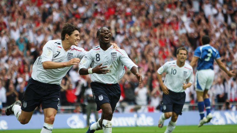 Wright-Phillips won 36 caps for England, scoring six goals