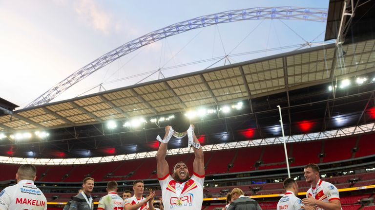 Sheffield Eagles lifted the  AB Sundecks 1895 Cup last year