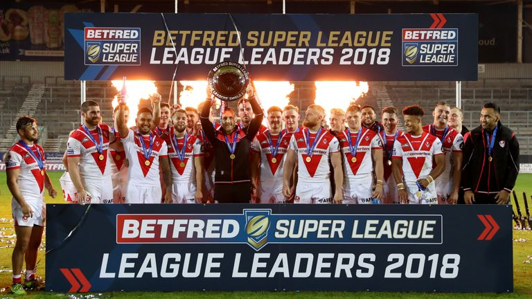 St Helens won the 2018 League Leaders' Shield, but lost out in the Super League play-offs