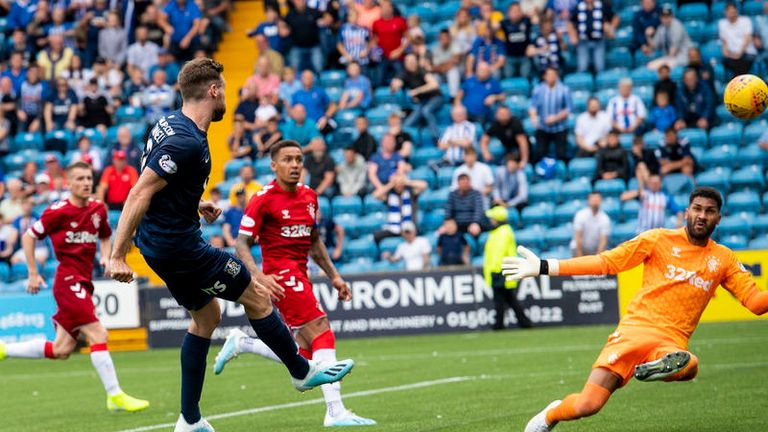 Stephen O'Donnell had looked like snatching a point for Kilmarnock